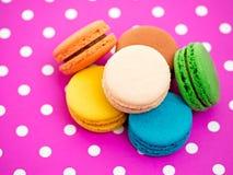 Colorful macarons Royalty Free Stock Image