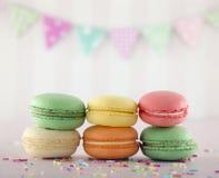 Colorful macarons Stock Image