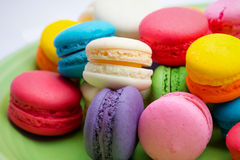 Colorful macarons Royalty Free Stock Photo