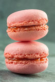 Colorful macarons Stock Photography