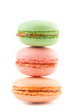 Colorful macarons Royalty Free Stock Images