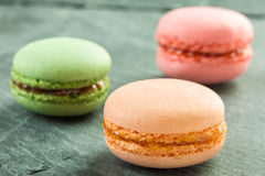 Colorful macarons Stock Photo