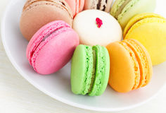 Colorful macaroon Royalty Free Stock Photos