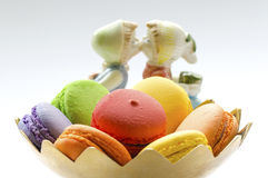 Macaroon with Love Royalty Free Stock Images