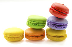 Macaroon. Colorful Macaroon in close up Stock Image