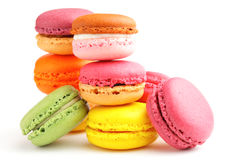 Colorful macaroon Stock Images