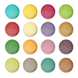 Colorful  macaroon. Colorful macaroon with white background Royalty Free Stock Image