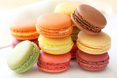 Free Colorful Macaroons Royalty Free Stock Image - 15928436