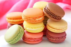 Free Colorful Macaroons Royalty Free Stock Images - 16048859