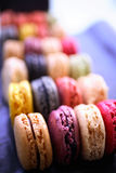 Colorful macaroons Stock Photography