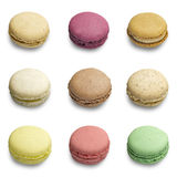 Colorful macaroons assortment Stock Image