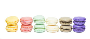 Colorful macaroons Royalty Free Stock Image