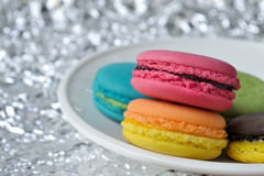 Colorful macaroons. Royalty Free Stock Images