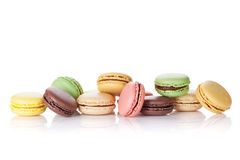 Colorful macaroons. Sweet macarons Royalty Free Stock Images