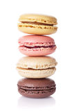Colorful macaroons. Sweet macarons Royalty Free Stock Photography