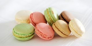 Colorful macaroons Royalty Free Stock Photos