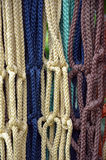 Colorful macrame Stock Images