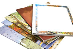 Colorful Magazines stock image