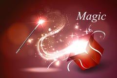 Colorful magic box. Vector illustration colorful magic box Stock Photo