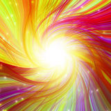 Colorful magic burst Stock Photos