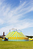 Colorful Magic Circus Tent Stock Photo