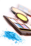 A colorful make-up Royalty Free Stock Photos
