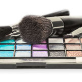 Colorful make-up and cosmetics Royalty Free Stock Image