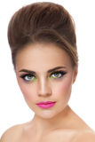 Colorful make-up Royalty Free Stock Image