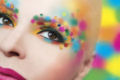 Colorful makeover . Royalty Free Stock Photography