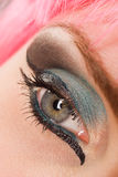 Colorful Makeup Royalty Free Stock Image
