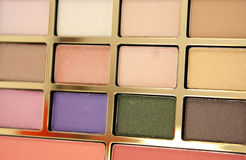 Colorful makeup cosmetic Royalty Free Stock Images