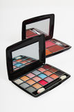 Colorful makeup kit Stock Photography