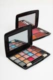 Colorful makeup kit Stock Photography