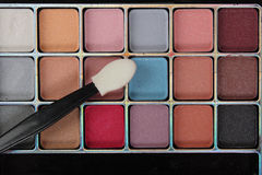 Colorful makeup kit Royalty Free Stock Images