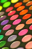 Colorful makeup palette Stock Photography