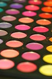 Colorful makeup palette Royalty Free Stock Images