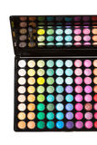 Colorful makeup palette Stock Images