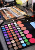 Colorful Beauty Products, Makeup Colors, Cosmetic Treatments Stock Photos