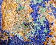Colorful malachite surface Stock Image