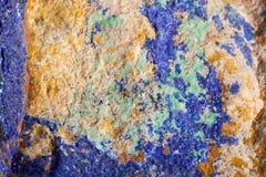 Colorful malachite surface Stock Photo
