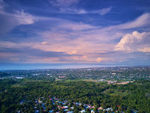 Colorful Managua cityscape Stock Photography