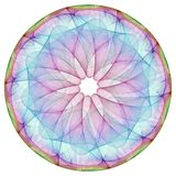Colorful mandala royalty free stock photos