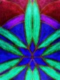 Colorful mandala abstract Royalty Free Stock Image