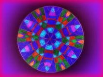 Colorful mandala abstract Royalty Free Stock Photos