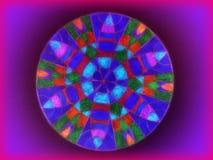Colorful mandala abstract royalty free stock photos