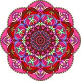 Colorful mandala for coloring book. Decorative round ornaments. stock illustration