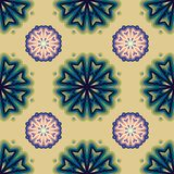Colorful Mandala. Ethnic tribal ornaments. Geometric and floral motifs Stock Photos