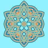 Colorful Mandala. Ethnic tribal ornaments. Geometric and floral motifs Stock Image