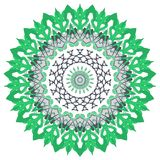 Colorful Mandala. Ethnic tribal ornaments. Geometric and floral motifs Stock Images