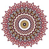 Colorful Mandala. Ethnic tribal ornaments. Geometric and floral motifs Stock Photography